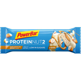 PowerBar Protein Nut 2 Bar Box 18x2x22,5g White Chocolate Almond